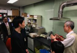 宮川研究室訪問の様子4
